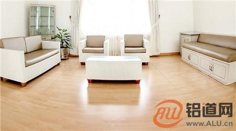 AAG千亿国际客户端:首创环保铝地板 构筑家装领域新生态